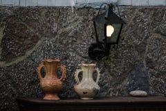 危地马拉水罐装饰 免版税库存图片