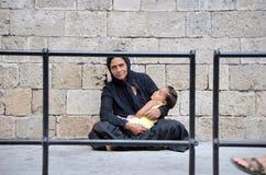 危机希腊 库存图片