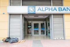 危机希腊 免版税库存图片