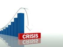 危机时间 向量例证