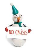 危机没有 免版税库存照片