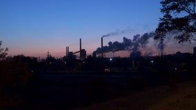 危机生态学环境照片污染 冶金工厂 股票录像