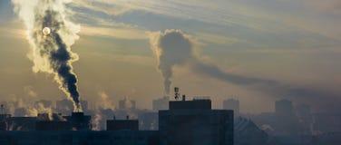 危机生态学环境照片污染 库存照片
