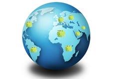 继续危机美元经济秋天世界 免版税库存图片