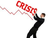 危机 免版税库存照片