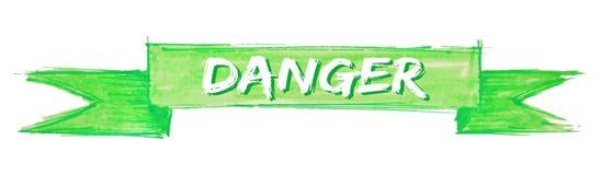 危险丝带 向量例证