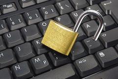 危险互联网 免版税库存照片