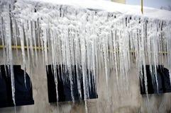危险冰icicle_13 库存照片