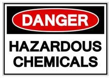 危险危害化学符号标志,传染媒介例证,在白色背景标签的孤立 EPS10 皇族释放例证