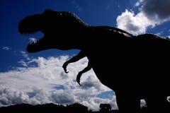 危险恐龙 免版税库存图片