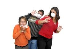 危险流感 库存图片