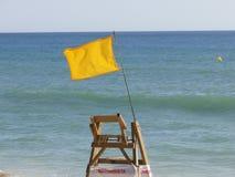 危险海滩 免版税库存照片