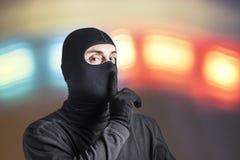 危险犯罪敦促您保持安静 图库摄影