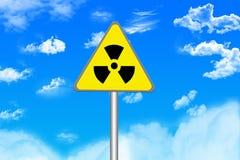 危险等级辐射 库存照片