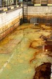 危险水域液体 库存图片