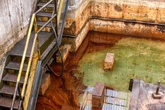 危险水域液体 图库摄影