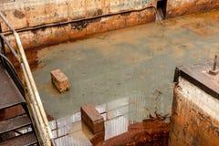 危险水域液体 库存照片