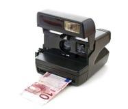 即时货币 免版税库存照片