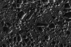 卵形石头自然本底在黑白颜色的 库存照片