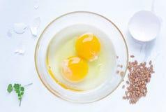 卵黄质 免版税库存图片