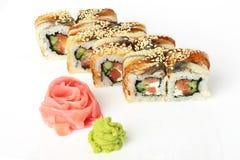 卷寿司 免版税库存照片