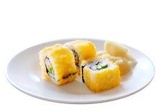 卷寿司 库存图片