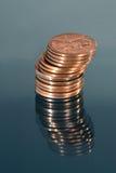 卷封的货币 库存图片