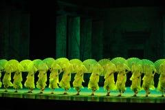 卷柏其次moellendorfii舞蹈过去的戏曲沙湾事件Hieron-The行动  图库摄影