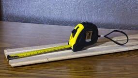 1卷测量的磁带 库存图片
