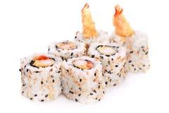 卷芝麻srimp 免版税图库摄影