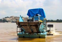 水厂的排除udaipur的 免版税库存照片