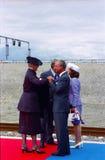厄勒海峡LINKBRIDGE正式开幕  免版税库存图片