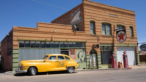 洛厄尔,亚利桑那-鬼城 免版税图库摄影