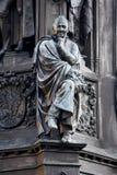 厄恩斯特Rubenowdenkmal大学的格赖夫斯瓦尔德莫里茨Arndt 库存照片