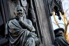 厄恩斯特Rubenowdenkmal大学的格赖夫斯瓦尔德莫里茨Arndt 免版税库存图片