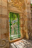厄梅尔清真寺入口在耶路撒冷 免版税库存图片