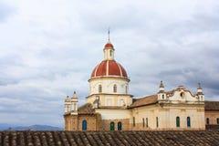 厄瓜多尔教会 免版税库存照片