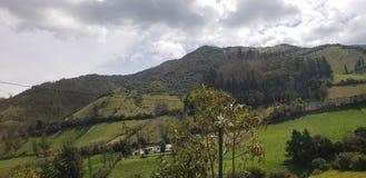 厄瓜多尔最佳的路视图 免版税库存照片