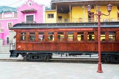 厄瓜多尔有轨电车 免版税库存图片
