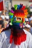 厄瓜多尔民间面具 库存图片