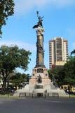 厄瓜多尔瓜亚基尔自由雕象 免版税图库摄影
