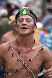 从厄瓜多尔的亚马逊地区的人 库存图片