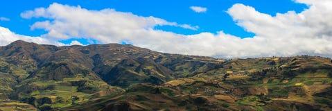 厄瓜多尔的领域 免版税库存照片
