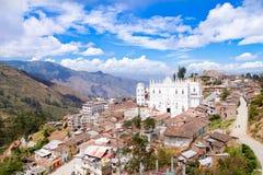 厄瓜多尔的El Cisne大教堂 免版税库存图片