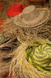 厄瓜多尔,巴拿马草帽 免版税图库摄影