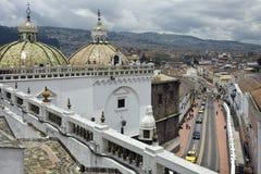 厄瓜多尔-基多-圣多明各教会 免版税图库摄影