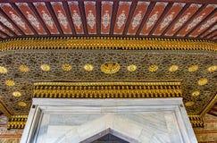 历史伊斯兰教的装饰,主题 免版税库存照片