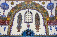 历史伊斯兰教的装饰,主题 库存图片