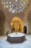 历史传统公共浴室Hamam Inal内部  库存照片