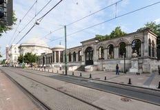 历史修造的伊斯坦布尔土耳其 库存图片